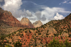 Parque nacional de Zion fotos de stock