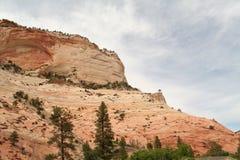 Parque nacional de Zion Foto de Stock Royalty Free