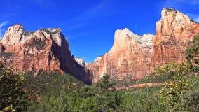 Parque nacional de Zion da montagem Imagem de Stock Royalty Free