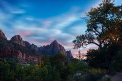 Parque nacional de Zion, EUA imagem de stock