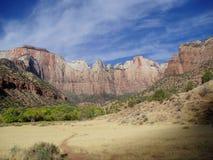 Parque nacional de Zion, Utá Fotografia de Stock