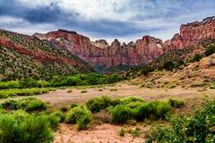 Parque nacional de Zion, Utá Foto de Stock Royalty Free