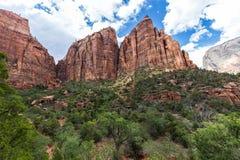 Parque nacional de Zion, Utah, los E Fotografía de archivo libre de regalías