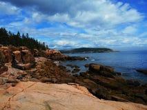 Parque nacional del Acadia, Maine, los E imagen de archivo