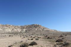 Parque nacional del avdat de Ein en Israel Imagenes de archivo