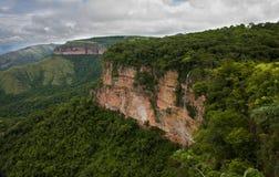 Parque nacional del DOS Guimaraes de Chapada imagen de archivo libre de regalías