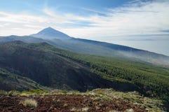 Parque nacional del EL Teide, Tenerife Imagen de archivo libre de regalías
