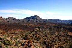 Parque nacional del EL Teide, Tenerife, islas Canarias, Imágenes de archivo libres de regalías