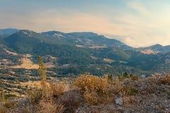 Parque nacional del en del  de LovÑ montenegro Foto de archivo libre de regalías