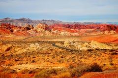 Parque nacional del estado del fuego Foto de archivo libre de regalías