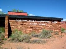 Parque nacional del filón del capitolio en Utah, U S A imagenes de archivo