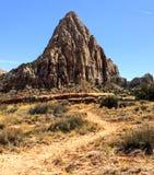 Parque nacional del filón del capitolio, Utah, los E Fotos de archivo libres de regalías