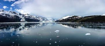 Parque nacional del Glacier Bay en Alaska los E.E.U.U. Foto de archivo