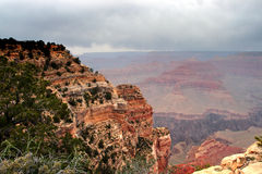 Parque nacional del Gran Cañón, los E Foto de archivo