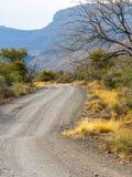 Parque nacional del Karoo, cerca de Beaufort del oeste, a finales de tarde Imagen de archivo libre de regalías