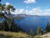 Parque nacional del lago crater Imagenes de archivo