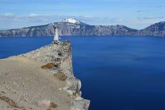 Parque nacional del lago crater Fotos de archivo libres de regalías