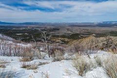 Parque nacional del Mesa Verde Imágenes de archivo libres de regalías