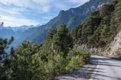 Parque nacional del monte Olimpo fotografía de archivo libre de regalías