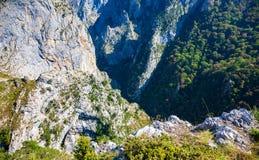 Parque nacional del Picos de Europa Tresviso imagen de archivo