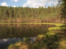 Parque nacional del taitija del ¡de AukÅ (Lituania) Imagenes de archivo