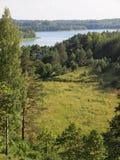 Parque nacional del taitija del ¡de AukÅ (Lituania) Foto de archivo