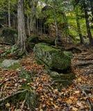 Parque nacional del valle de Cuyahoga de las repisas foto de archivo libre de regalías