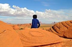 Parque nacional del valle del monumento imagen de archivo libre de regalías