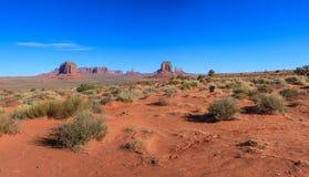 Parque nacional del valle del monumento Foto de archivo