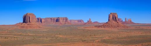 Parque nacional del valle del monumento Fotos de archivo