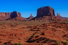 Parque nacional del valle del monumento Foto de archivo libre de regalías