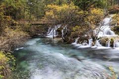 Parque nacional del valle Jiuzhaigou Imagen de archivo