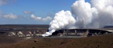 Parque nacional del volcán, Hawaii Foto de archivo