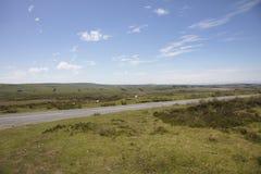 Parque nacional Devon England del norte de Exmoor imagenes de archivo