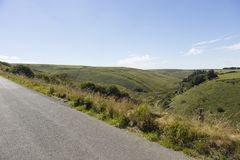 Parque nacional Devon England del norte de Exmoor fotos de archivo libres de regalías