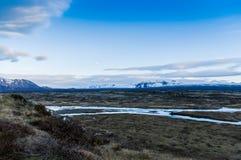 parque nacional do þingvellir Imagens de Stock