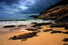 Parque nacional do Acadia fotografia de stock
