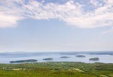 Parque nacional do Acadia Imagem de Stock