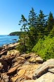 Parque nacional do Acadia fotos de stock