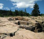 Parque nacional do Arcadia, Maine Fotos de Stock
