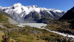 Parque nacional do cozinheiro da montagem, Nova Zelândia Imagens de Stock
