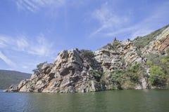 Parque nacional do ¼ e de MonfragÃ, Espanha Fotos de Stock