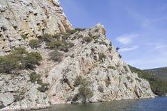 Parque nacional do ¼ e de MonfragÃ, Espanha Imagens de Stock Royalty Free