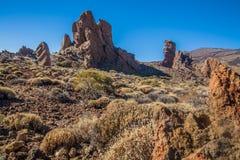 Parque nacional do EL Teide Fotografia de Stock