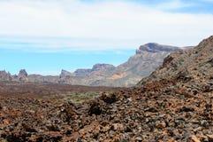 Parque nacional do EL Teide em Tenerife (Espanha) Imagem de Stock
