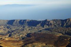 Parque nacional do EL Teide, Tenerife Foto de Stock