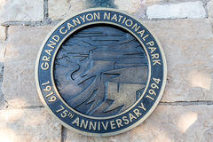 Parque nacional do Grand Canyon Fotografia de Stock