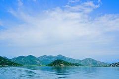 Parque nacional do lago Skadar, Montenegro imagem de stock