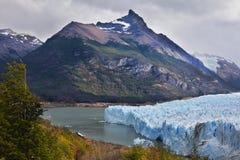 Parque nacional do Los Glaciares no Patagonia Imagens de Stock Royalty Free