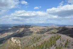 Parque nacional do Mesa Verde Imagem de Stock Royalty Free